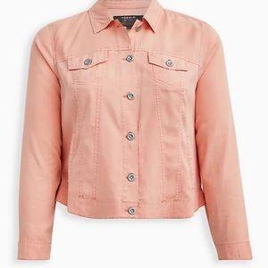 Peach 🍑 light weight bomber jacket